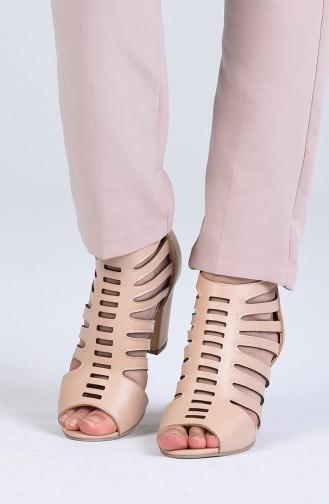Chaussures a Talons Couleur de teint 1301-03