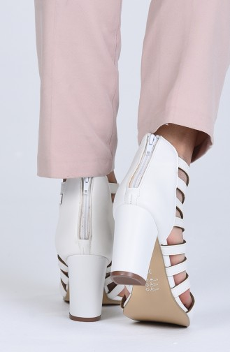 Chaussures a Talons Blanc 1301-05
