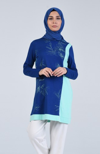 Tunique Bleu Marine 1630-01