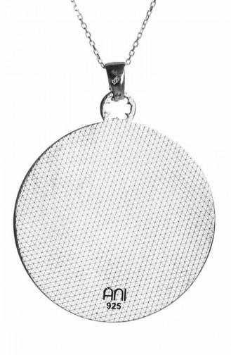 Silver Gray Necklace 0027-96