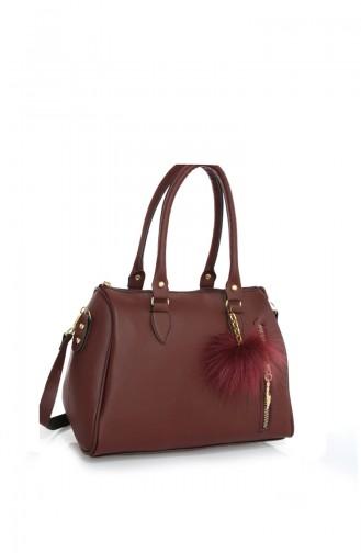 Claret red Shoulder Bag 41Z-03