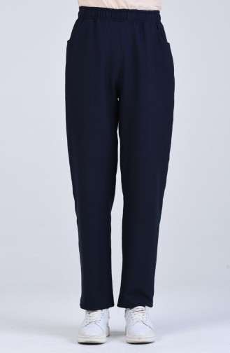 Pantalon Bleu Marine 4116PNT-01