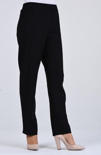 Beli Lastikli Pantolon 4125PNT-02 Siyah