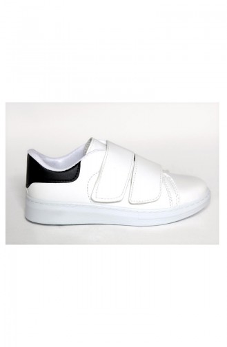 White Sport Shoes 1000-01