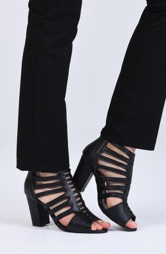 Chaussures a Talons Noir 1301-04