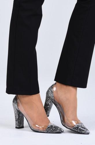 Chaussures a Talons Gris 2122-03