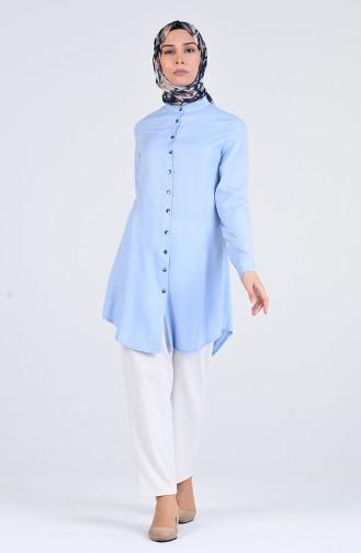 Tunique Bleu Bébé 3179-02