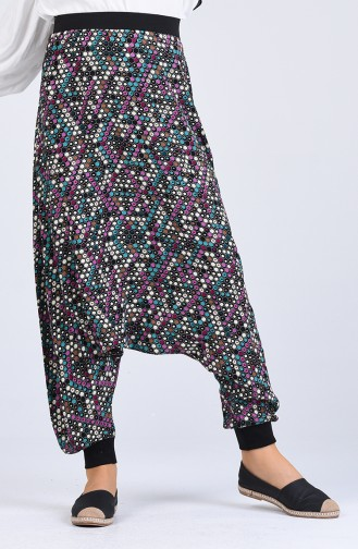 Turquoise Broek 0001A-01
