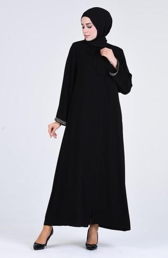 Schwarz Abayas 5002-01