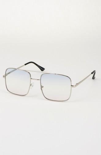 Unisex Güneş Gözlüğü P005-08 Mavi Beyaz