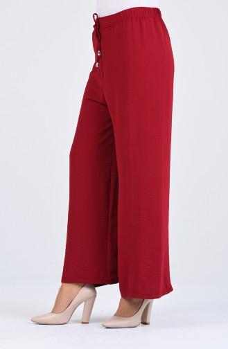 Claret red Broek 5459-08