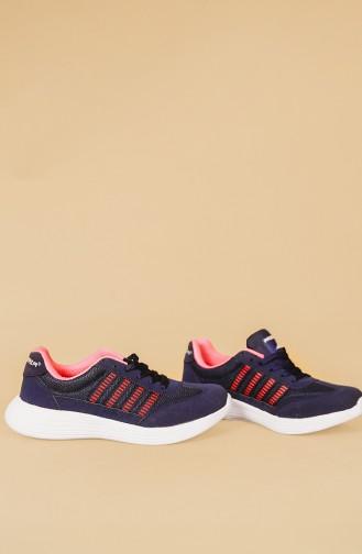 Navy Blue Sport Shoes 03
