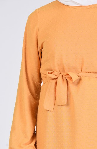 Robe Hijab Moutarde 7664-03