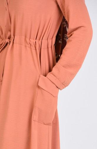 Robe Hijab Pelure d`oignon 7684-02