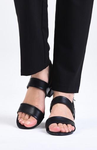 Chaussures a Talons Noir 0511-02