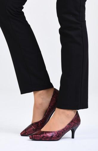Claret red High Heels 0613-03