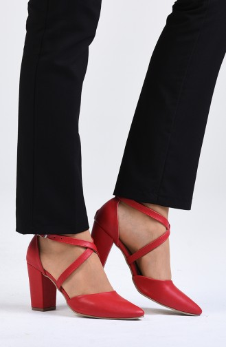 Red High Heels 1102-13