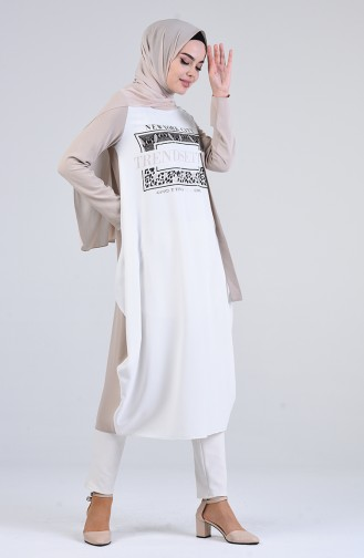 Tunique Blanc 1475-05