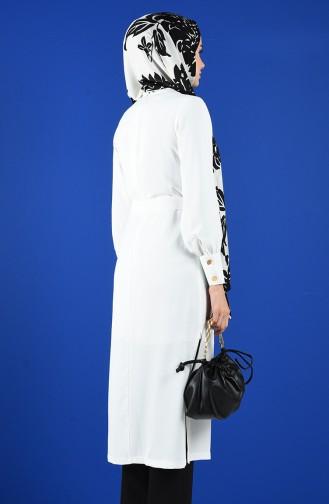 Tunique Blanc 3077-04