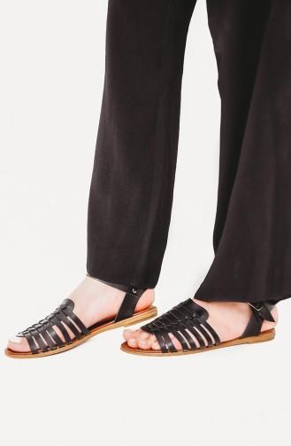 Sandales D`été Noir 08