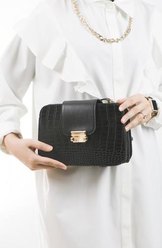 Black Shoulder Bag 24-03