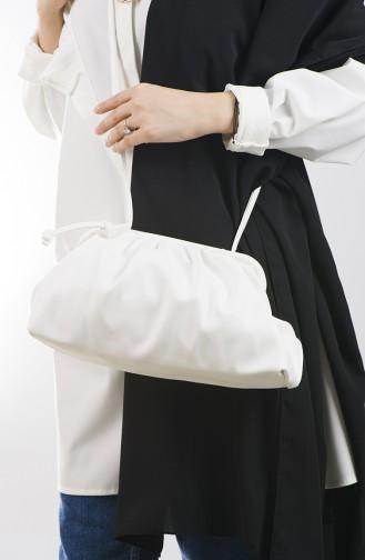 Sac D`épaule Blanc 19-03