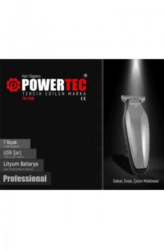 Powertec Saç Sakal Tıraş Makinesi TR-1158