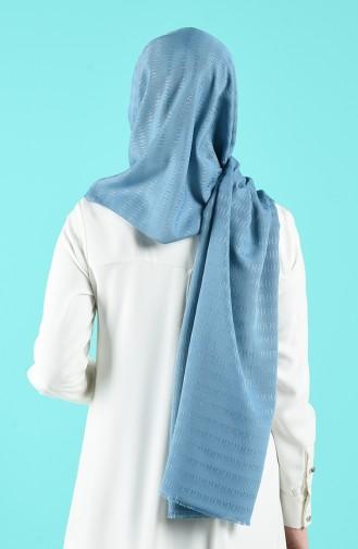 Châle Bleu menthe 901634-14