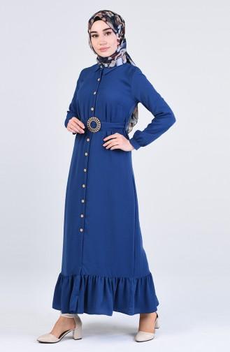 Robe Hijab Indigo 9057-01