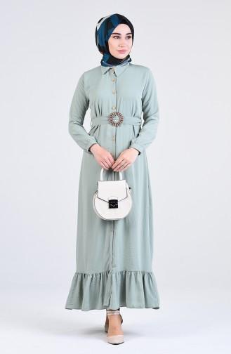 Robe Hijab Khaki 9057-07