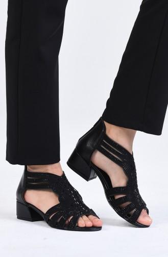Chaussures a Talons Noir 0523-07