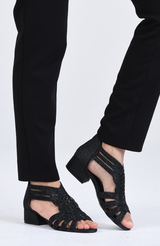 Chaussures a Talons Vert 0523-08