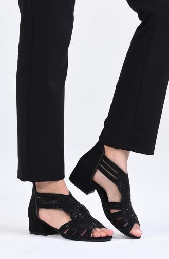 Chaussures a Talons Noir 0523-10