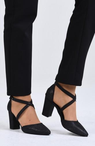 Chaussures a Talons Noir 1102-09