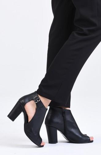 Chaussures a Talons Noir 1302-07
