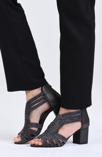 Chaussures a Talons Platine 9055-06