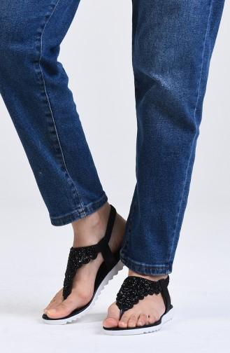 Sandales D`été Noir 0010-01