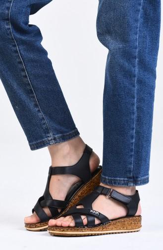 Sandales D`été Noir 0201-02
