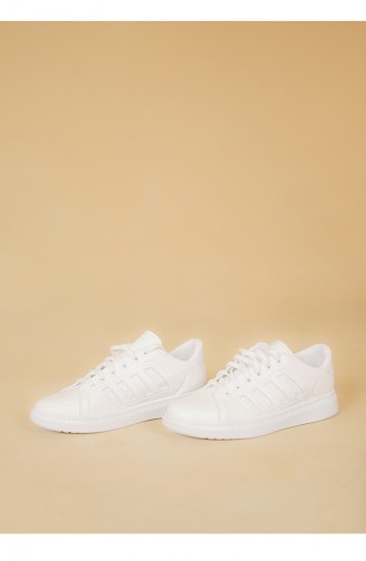 White Sport Shoes 30050-09