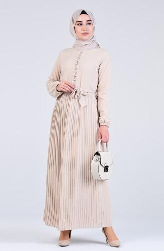 Robe Hijab Beige 7624-04