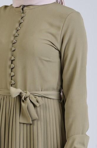 Robe Hijab Moutarde 7624-06