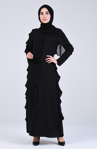 Black İslamitische Jurk 7667-01