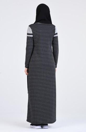 Robe Hijab Noir 2600-02