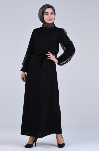 Black İslamitische Jurk 2058-03