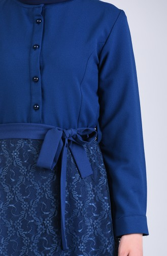 Robe Hijab Indigo 3041-02