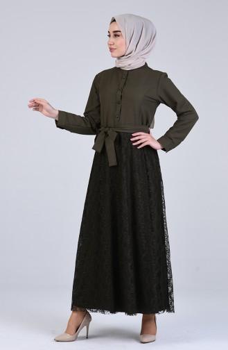 Robe Hijab Khaki 3041-04