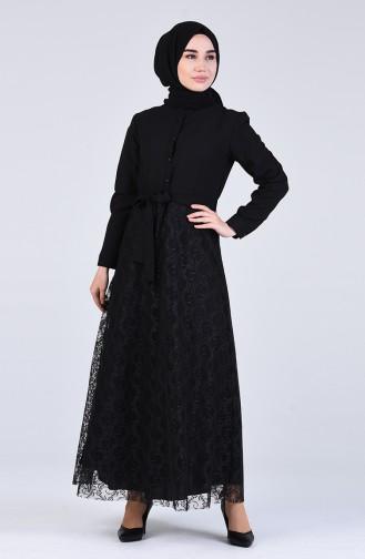 Robe Hijab Noir 3041-07