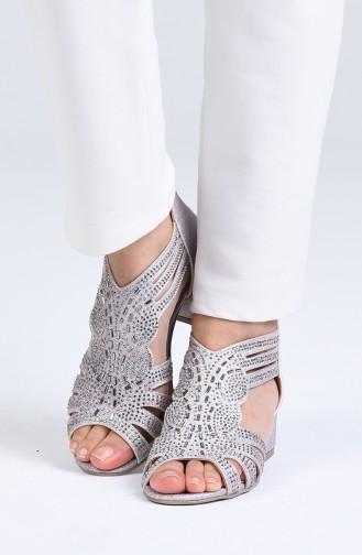 Chaussures a Talons Poudre 0523-09