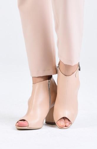 Chaussures a Talons Couleur de teint 1302-02