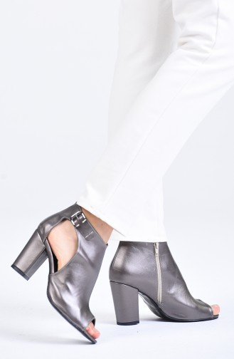 Chaussures a Talons Platine 1302-04